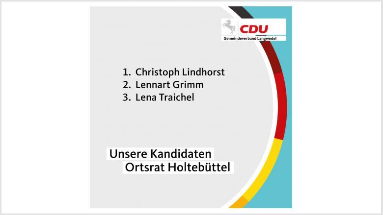 Kandidaten Ortsrat Holtebüttel